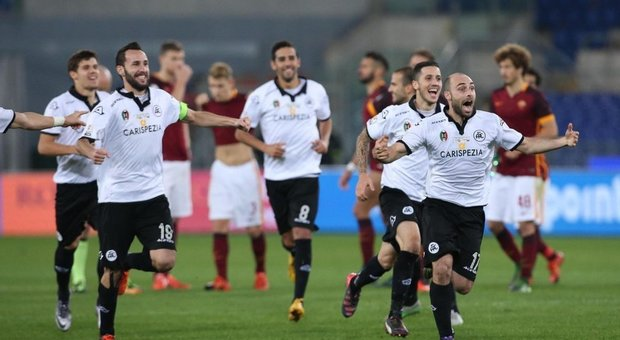 Soccer: Italy Cup, Roma-Spezia