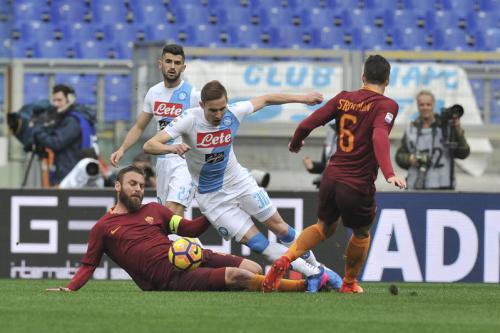Campionato di Calcio Serie A 2016/2017 - Roma vs Napoli
